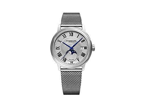 Reloj Automático Raymond Weil Maestro, 40 mm, Día, Fase Lunar, 2239M-ST-00659