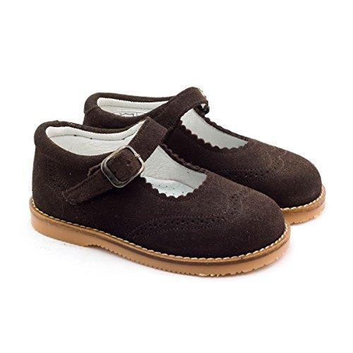 Boni Classic Shoes, Mädchen Schnürhalbschuhe Marone