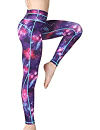 02ca3ae6e5 Women s Long Sports Leggings Running Tights High Waist Stretch Fitness Yoga  Pants