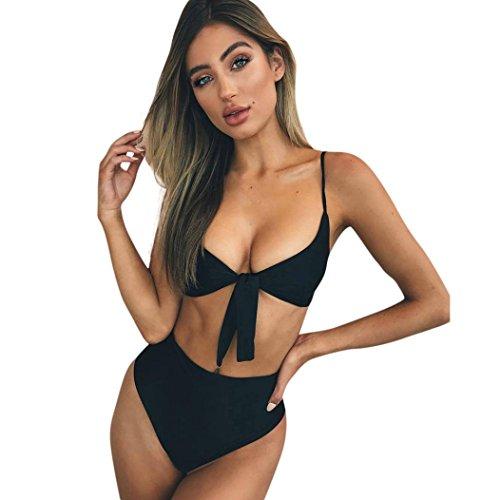 84e5c1afb4 Damen Bikini Set ❤️SHOBDW 2018 Frauen Bikini Set Badeanzug Hohe Taille  Damen Badeanzug Bademode Beachwear