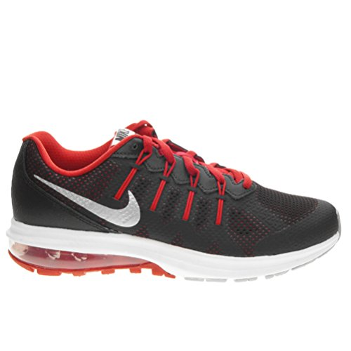 Nike Air Max Dynasty (Gs), Chaussures de Running Entrainement Homme Noir (Black / Metallic Silver-White)
