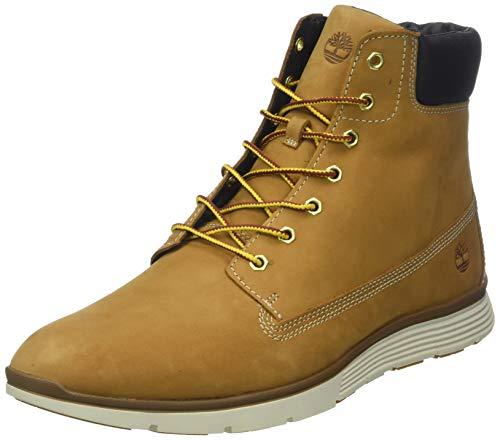 Timberland Herren Killington 6 Inch Sneaker Halbhoch, Beige (Wheat Nubuck 231), 45.5 EU - Timberland Herren Block