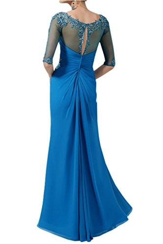 TOSKANA BRAUT - Robe - Crayon - Femme Bleu - Bleu