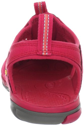 Keen Clearwater Cnx, Sandales de Randonnée Femme Rose (Barberry/Hot Coral)