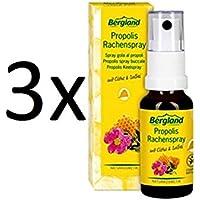 PROPOLIS RACHENSPRAY 3x20 ml Spray Perfekter Rachenschutz gegen Viren und Bakterien, mit Cistus + Salbei, ohne... preisvergleich bei billige-tabletten.eu
