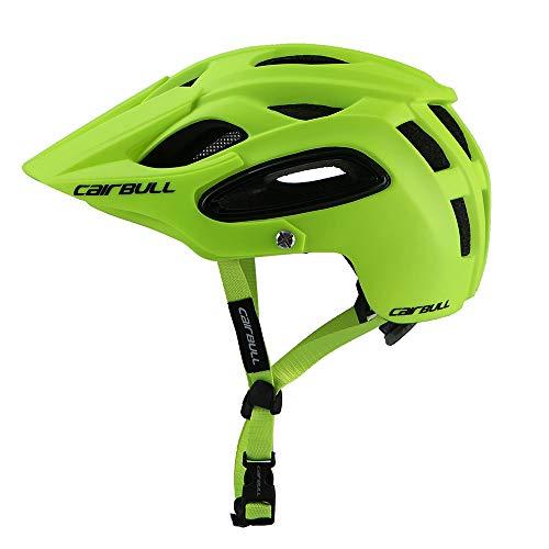 Lixada CAIRBULL Atmungsaktive Sicherheit Integral-Molded Ultralight Helm Professionelle MTB Fahrradhelm Sport Racing Fahrradhelm