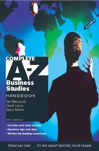 Complete A-Z Business Studies Handbook 4th Edition by Barry Martin (2003-04-30)