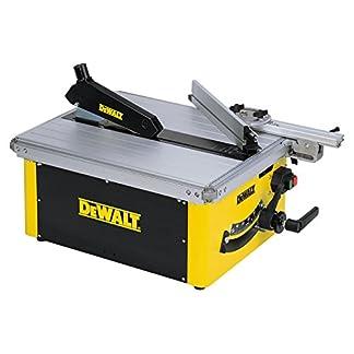 Dewalt DW745-QS Sierra 1.700W-diámetro de 250 mm-Mesa 630 x 570 mm-Portátil, Set de 2 Piezas