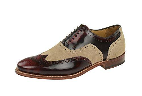 Gordon & Bros  3859-c, Chaussures à lacets et coupe classique homme Rouge