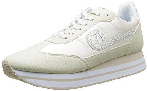 No Name ENHA4304VE - Zapatillas de Deporte de Sintético Mujer, Rosa (Rosa (Dove/Poudre VE)), 40 EU Desconocido