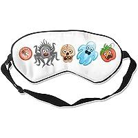 Halloween Travel Home Schlafmaske Cute Shading Eyeshade preisvergleich bei billige-tabletten.eu