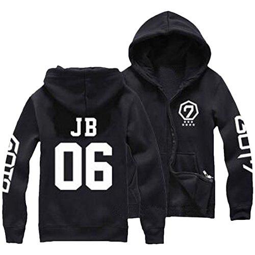 Partiss - Sweat à capuche - Femme JB 06 Black