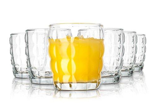 Tivoli Melbourne vasos de agua/380 ml/conjunto de 6/gafas de alta cali