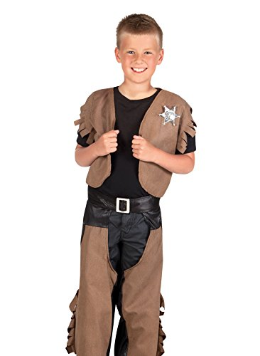 Boland 82164 - Kinderkostüm Cowboy Dustin, (Make Up Halloween Cowgirl)