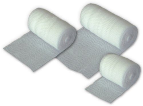Fixierbinde 10cm x 4m First Aid x 6 Pack