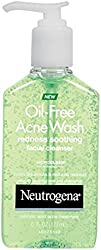 Neutrogena Oil-Free Acne Wash Redness Soothing Facial Cleanser 6 oz (Pack of 4)