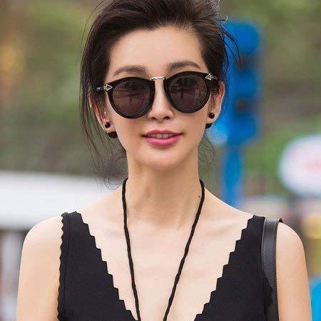 Der Positive Artikel Sonnenbrille Flut Pfeilspitze ist Teil der Hellen Sonnenbrille Star-Stil bunten Film Männer und Frauen, um alte Bräuche Reflexion in der Nähe der Sicht wiederzubeleben,