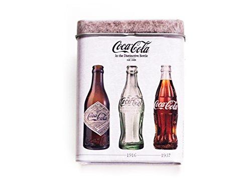 Abbildung: Coca Cola Elegantes ZIGARETTENETUI Zigarettenbox NEU Blechbüchse