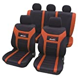 Universal Sitzbezugset SPEED orange Sitzbezüge