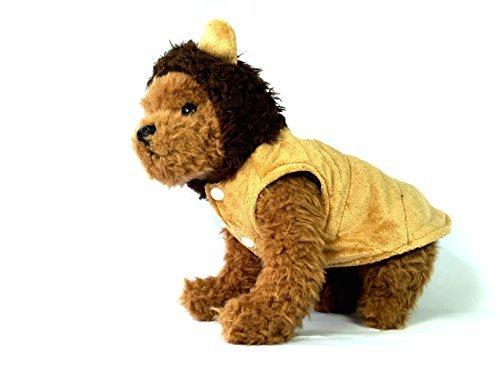 TheDogWear.com Löwe Hunde Kostüm, S, Braun (Awesome Kostüm Für Hunde)