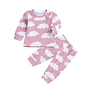 Cute Baby Clothes LSU Baby Clothes Notre Dame Baby Clothes Toddler Kids Baby Boy Girl Cloud T-Shirt Tops+Pants Family Pajamas Clothes Set Baby Close Online Shopping Sites for Baby Clothes Clothes ba