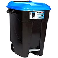 Tayg - Contenedor de residuos Eco Tayg 100 l. AZ. C/pedal