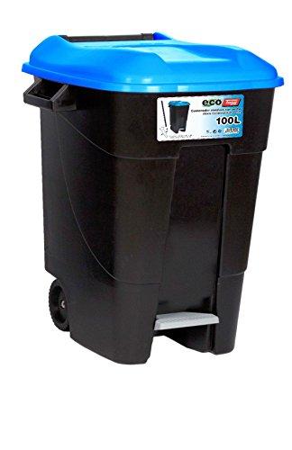 Tayg - Contenedor de residuos Eco Tayg 100 l. AZ. C/ pedal