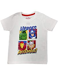 045a6912 Amazon.in: Whites - T-Shirts & Polos / Boys: Clothing & Accessories