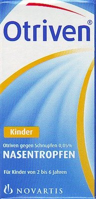 Otriven 0,05% Nasentropfen für Kinder bei Schnupfen, 10 ml Lösung