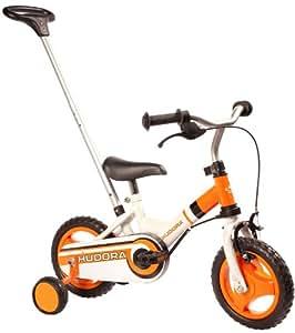 """Hudora - 10500 - Vélo et Véhicule pour Enfant - Vélo enfant 10"""" avec tige de poussée"""
