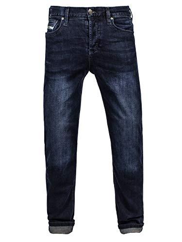 Preisvergleich Produktbild John Doe Motorrad Hose Jeans Denim Jeans Dark Blue-L32-W31