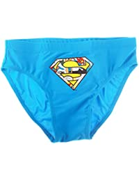Boite slip de bain enfant garçon Superman Bleu 12ans
