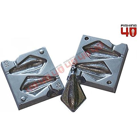 Stealth Peso Molde 90–100gr/Plomo Pesca Sinker molde/molde de pesca