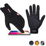 Fitness Handschuhe Touchscreen Fahrradhandschuhe Herren Damen Outdoor Sporthandschuhe Winterhandschuhe Thermo
