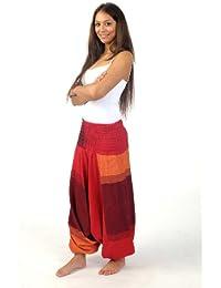 - Sarouel homme femme élastique rouge Sanjeevani -