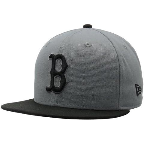MLB Boston Red Sox MLB Basic Stm/Gry 59Fifty, STORM GRAY/BLACK, 6 7/8 by New Era