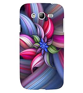 ColourCraft Beautiful Flower Design Back Case Cover for SAMSUNG GALAXY GRAND Z I9082Z