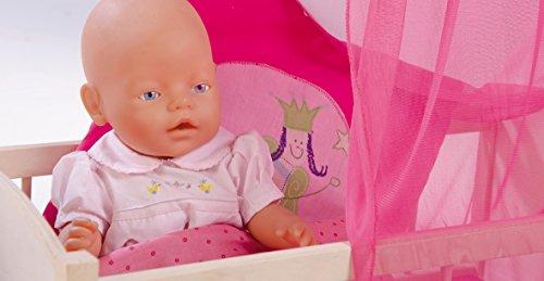 roba 97233 Happy Fee Culla in Legno per Bambole , 87 x 57 x 31 cm