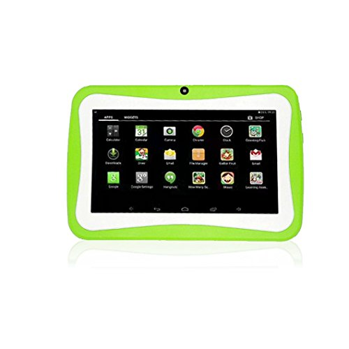 samlike Tablet ,7pollici Quad Core HD Tablet per bambini Android 4.4KitKat Dual Camera WiFi Bluetooth verde verde