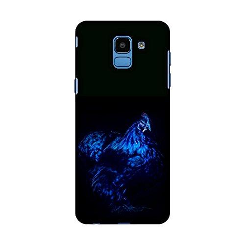 msung Galaxy J6 (2018), schlankes Design, handgefertigt, Bedruckt, zum Aufstecken, Motiv: Tanzende Junggesellinnenabschied, Blau ()
