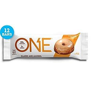 41BeZfCsD%2BL. SS300 Ohyeah Nutrition One al Gusto Ciambella Glassata - Pacco da 12 Barrette x 60 gr - Totale: 720 gr