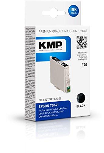 Preisvergleich Produktbild KMP Tintenkartusche für Epson Stylus C64 / C84 / CX6400,  E70,  black pigmented
