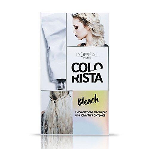 L'Oréal Paris Colorista Bleach, Decolorazione ad Olio per una Schiaritura Completa