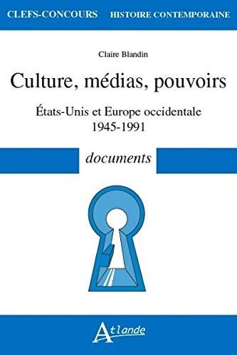 Culture, médias, pouvoirs