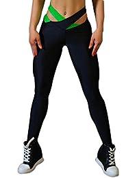 97948b8ece61c9 Legendaryman Sommer Damen Lange Hose Mode Kreuz Bandage Leggings Sporthose  Sexy Skinny Hosen…
