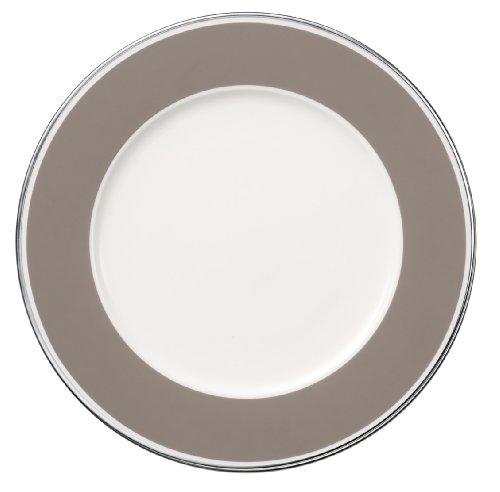 30cm Platzteller 'Anmut My Colour' aus Premium Bone Porzellan Farbe: Rock Grey