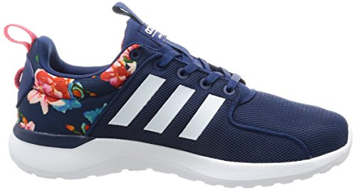 adidas Damen Cloudfoam Lite Race Laufschuhe Mehrfarbig (Mysblu/ftwwht/shored)