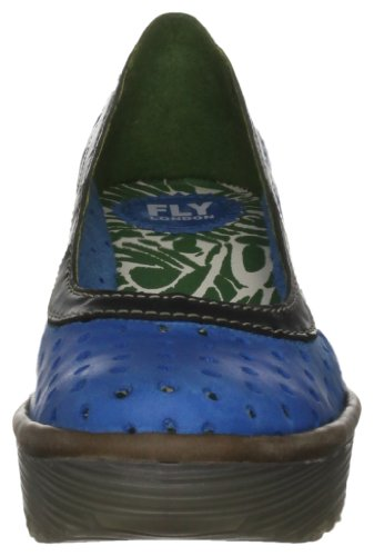 Fly London Yedi, Escarpins Femme Bleu (Bleu-TR-B3-195)