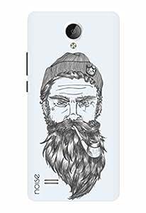 Noise Designer Printed Case / Cover for Vivo Y21L / Patterns & Ethnic / Beard Design
