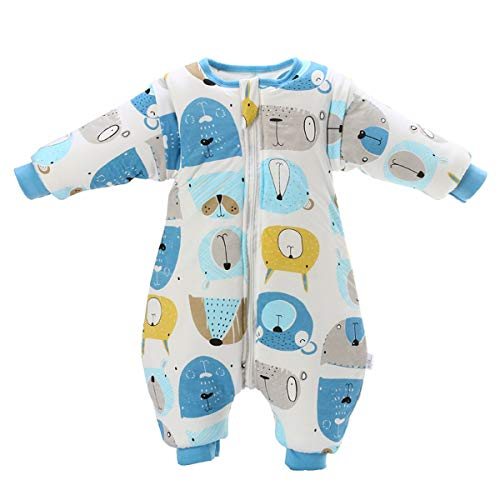 Saco de dormir para bebé con patas